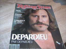 Rolling Stone Magazine : N° 26 1990 Gerard Depardieu Johnny Clegg - Sonstige