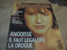 Rolling Stone Magazine : N° 27 1990 Nathalie Baye - Sonstige