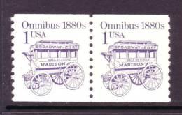U.S. 2225X2  Dull Gum, Block Tagging   **  OMNIBUS - Coils & Coil Singles
