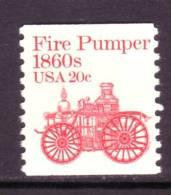 U.S. 1908  **  FIRE PUMPER - Coils & Coil Singles
