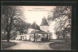 CPA Aubinges, Château De Lusson, Facade Sud-est - Non Classés