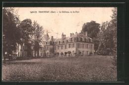 CPA Thauvenay, Le Château, Vu Du Parc - France