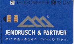 GERMANY(chip) - Jendrusch & Partner(S 40), 03/92, Used - S-Series: Schalterserie Mit Fremdfirmenreklame
