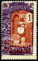MUSIC-DRUMMER-FRENCH SOMALIA-FINE USED-B4-409 - Muziek