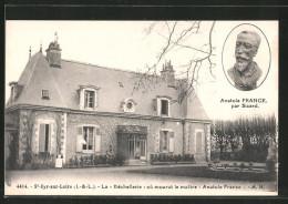 """CPA Saint Cyr Sur Loire, La """"Bechellerie"""" Ou Mourut Le Maitre Anatole France - Saint-Cyr-sur-Loire"""