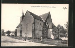 CPA Neuvy-deux-Clochers, L'Eglise - Non Classés