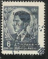 LUBIANA 1941 ALTO COMMISSARIATO 6 D USATO USED OBLITERE' - 9. Ocupación 2ª  Guerra (Italia)
