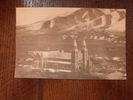 Nouvelle Cathedrakle, vue du N.D.  avant l'ancienne eglise   RPPC Real picture postcard Carte photo  1929