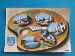 CPSM - PALETTE SAINT-DIZIER - BLASON De ROBERT LOUIS - Saint Dizier