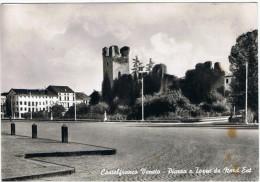 CASTELFRANCO  VENETO:  PIAZZA  E  TORRE  DA  NORD-EST  -  FOTO  -  FG - Treviso