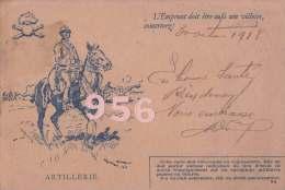 CPA * * Correspondance Des Armées De La République * *  ( Voir Les 2 Scans ) - Militaria