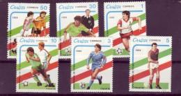 CUBA    N°  2920/25  * *   Cup  1990  Football  Soccer Fussball - Fußball-Weltmeisterschaft