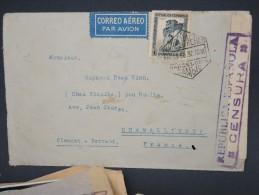 ESPAGNE - Enveloppe De Barcelonne Pour Chamallieres En 1937  Avec Censure - à Voir - Lot P7575 - Republikanische Zensur