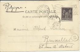FRANCIA TP CON MAT EXPOSITION UNIVERSELLE 1900 PARIS - 1900 – Paris (Frankreich)