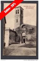 1930 RADICOFANI CHIESA PARROCCHIALE FP V SEE 2 SCANS ANIMATA - Italia