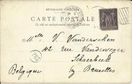 FRANCIA TP CON MAT EXPOSITION UNIVERSELLE 1900 PARIS - 1900 – Paris (France)