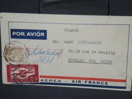 PORTUGAL - Enveloppe En Recommandée De Lisbonne Pour  Neuilly En 1938 - Aff. Plaisant - à Voir - Lot P7577 - 1910-... République