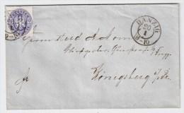 Danzig, Brief, Preußen-Zeit!. #2458 - Dantzig