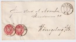 Danzig, Brief, Paar, Preußen-Zeit!. #2459 - Dantzig