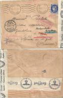 Kriegsgefangen Brief  Belfort F - Wil - St.Gallen               1941 - Svizzera