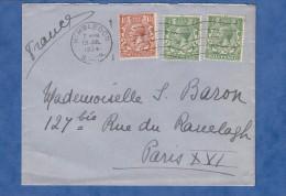 Enveloppe Ancienne - Cachet De Wimbledon , Juillet 1934 - Stamp Three Halfpence Halfpenny - 1902-1951 (Rois)