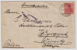 Polen, 1920, Seltener Zensur-Stp., #2468 - Covers & Documents
