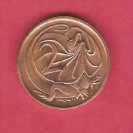 AUSTRALIA  2 CENTS 1978 (KM # 63) - Decimal Coinage (1966-...)