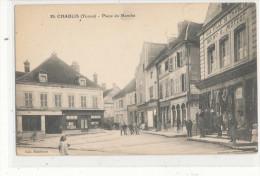 CHABLIS   Place Du Marché  Animée - Chablis
