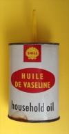 Boite En Fer Shell Contenant De L'huile De Vaseline - Sin Clasificación