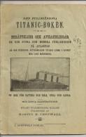 Den Fullständiga TITANIC-BOKEN (1924) - Livres, BD, Revues