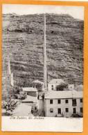 St Helena Island The Ladder 1905 Postcard - Saint Helena Island