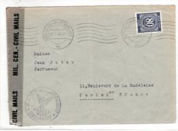 Lettre De Berlin Pour La France Censuré 07.05.46 - Marcophilie (Lettres)