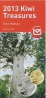 New Zealand 2012 Brochure About 2013 Kiwi Treasures Coin - Tane Mahuta - Materiaal