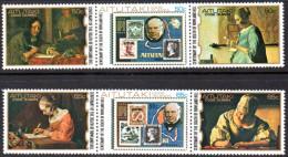 Aitutaki 1979 Rowland Hill Set Of 6, MNH - Aitutaki