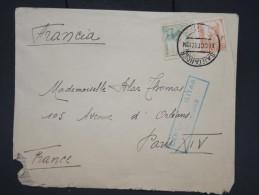 ESPAGNE- Enveloppe De Santander Pour Paris En 1937 Avec Censure Militaire - à Voir - Lot P7604 - Marcas De Censura Nacional