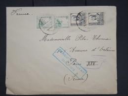 ESPAGNE- Enveloppe De Santander Pour Paris En 1937 Avec Censure Militaire - à Voir - Lot P7606 - Marcas De Censura Nacional