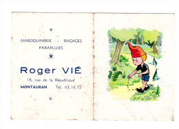 Calendrier 1966 Oofert Par Roger Vie (Montauban) (PPP022) - Calendriers