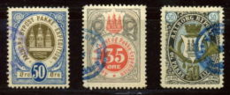DENMARK LOCAL AALBORG STAMPS 1886/7 - Faroe Islands