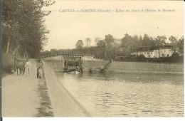CPA CASTETS EN DORTHE écluse Des Gares 11834 - France