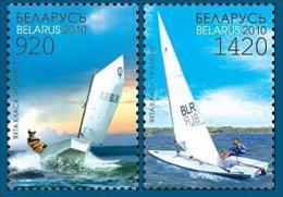 Belarus 2010 Mih. 812/13 Sport Sailboats MNH ** - Belarus