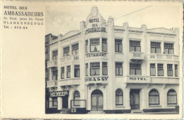 4cp-729: HOTEL DES AMBASSADEURS BLANKENBERGE.. - Blankenberge