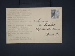 BELGIQUE - Préoblitéré En 1911 Sur Cp Commerciale De Suisse Pour Chocolat - à Voir - Lot P7636 - Precancels