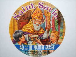 A-86039 - étiquette De Fromage - SAINT-SAVIOL - Fromagerie De Saint-Saviol - Vienne 86B - Cheese