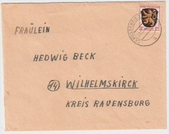 Franz. Zone, Brief Dezember 1945, Früh! . #2427 - Zona Francese