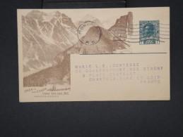 """CANADA  - Entier Postal  De """" Canadian Pacific Railway Company"""" Pour La France En 1921 - à Voir - Lot P7640 - 1903-1954 Rois"""