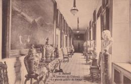 Belgica--Valonia--Beloeil--l'Interieur Du Chateau--La Grande Galerie De L'etage- - Castillos