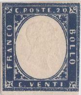 SI53D Italia Italy Italian States Sardinia Sardegna Sardinien 20 C. Nuovo MLH 1855 - Sardegna