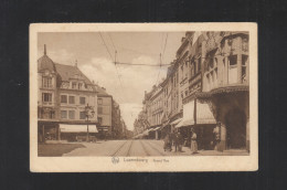 Luxemburg AK Grand Rue 1926 - Luxemburg - Stad