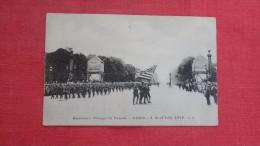 American Troops Parade Paris  4th July 1918 W! ?  1875 - Guerra 1914-18