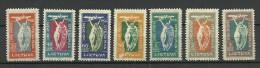 LITHUANIA Litauen 1921 Michel 109 - 115 * - Lithuania